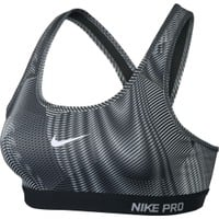 Nike Women's Pro Classic Padded Frequency Printed Compression Sports Bra | DICK'S Sporting Goods