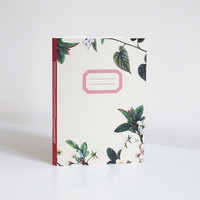 Floral notebook - A6
