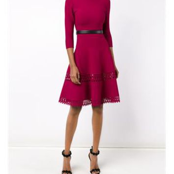 AZZEDINE ALAÏA   Laser Cut Fitted Dress   brownsfashion.com   The Finest Edit of Luxury Fashion   Clothes, Shoes, Bags and Accessories for Men & Women