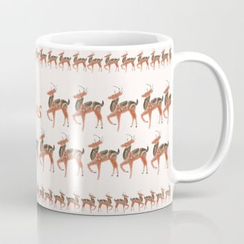 Reindeer Tree Coffee Mug by anipani