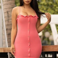 Better Than Yours Dress  Coral