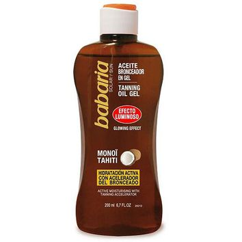 Tanning Oil Glowing Effect Babaria (200 ml)