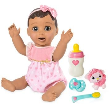 Spin Master Luva Bella Real Baby Doll African American