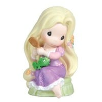 Precious Moments Disney Tangled Brushing Hair 4-1/4-Inch Figurine