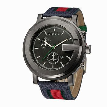 '' GUCCI '' Fashion Ladies Men Watch Little Ltaly Stylish Watch G