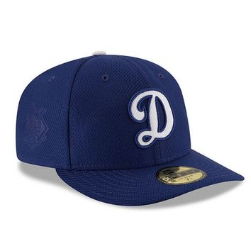 Los Angeles Dodgers New Era Royal Home Diamond Era Low Profile 59FIFTY Fitted Hat