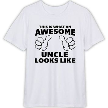 This is What An Awesome Uncle Looks Like T-Shirt For Men