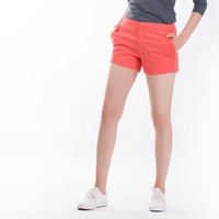 The Essential Chino Shorts in Coral Red