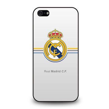 REAL MADRID CF iPhone 5 / 5S / SE Case Cover