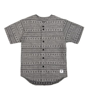 Cotton Wool Baseball Jersey Grey