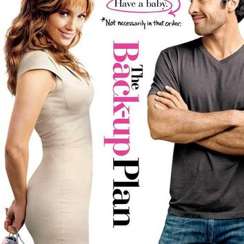The Back-Up Plan 27x40 Movie Poster (2010)
