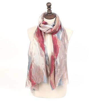[16253] Scarves Women Spring Export Quilt Whirlpool