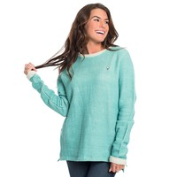 Arrow Stitch Pullover in Baltic by The Southern Shirt Co.