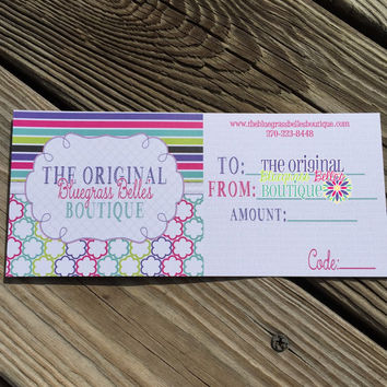 Gift Certficate | TheKYBellesBoutique gift certificate