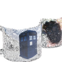 Heat Changing TARDIS Mug