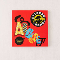 Stickerbomb Letters By Studio Rarekwai | Urban Outfitters
