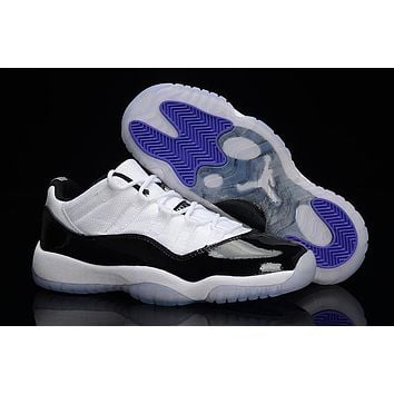 Air Jordan retro 11 low XI men whit and black Outdoor sports sho 1fdb2c0c0c