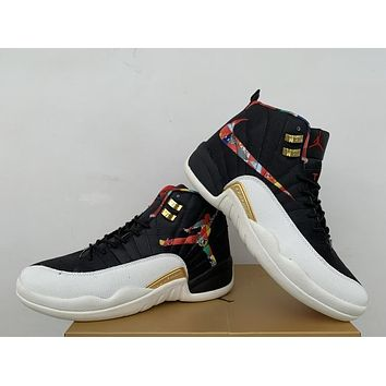 Air Jordan 12 Retro Aj 12 Cny Men Basketball Shoes | Best Online Sale