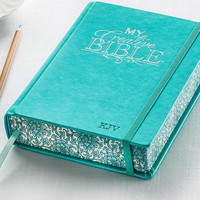 My Creative Bible Aqua Hardcover KJV