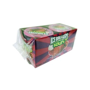 Icebreaker Mixed Berry Strawberry and Cherry Pack of 8 1.5 oz tins