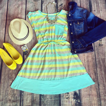 """Summer Break"" Dress"