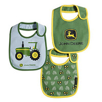 Tractor Bib Set 3 Pack Green
