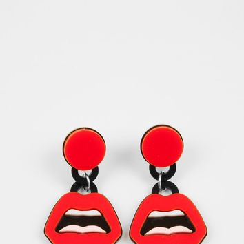 "YAZBUKEY ""C'est Ahh..."" earrings"