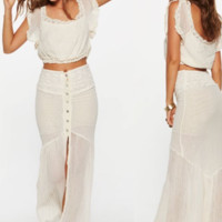 Lourdes Maxi Skirt - SPECIAL ORDER