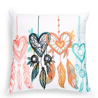 Heart Dreamcatcher Pillow