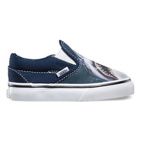 Toddlers Digi Shark Slip-On | Shop Toddler Shoes at Vans