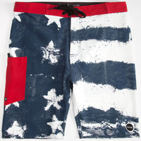 Tavik Independence Mens Boardshorts Red/White/Blue  In Sizes
