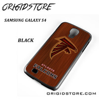 Atlanta Falcons Woods For Samsung Galaxy S4 Case UY