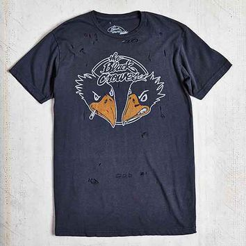 Black Crowes Destroyed Tee- Washed Black
