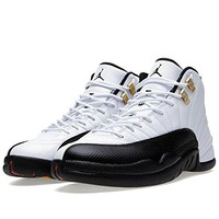 "Nike Mens Air Jordan 12 Retro ""Taxi"" Leather Basketball Shoes  Jordan 11"