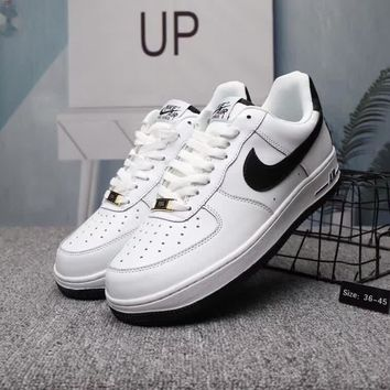 """Nike Air Force 1"" Unisex Casual All-match Plate Shoes Couple Fashion Sneakers"