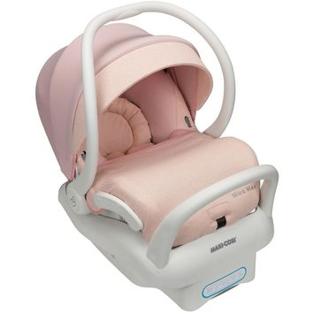 Maxi-Cosi Mico Max 30 Air Protect Infant Baby Car Seat Sweater Knit Pink w/ Boot