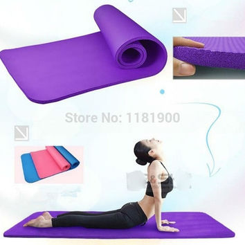 Arrival Exercise Mat elasticity foaming EVA 4mm 68x24x0.0.12inch Non-Slip Yoga Mat Exercise Fitness Lose Weight@YYF = 1932453892