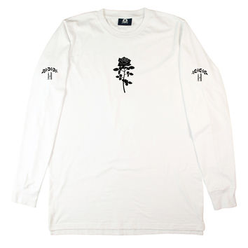 WHITE ROMEO LONG SLEEVE