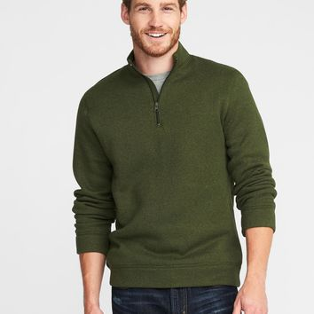 Sweater-Fleece 1/4-Zip Pullover for Men | Old Navy