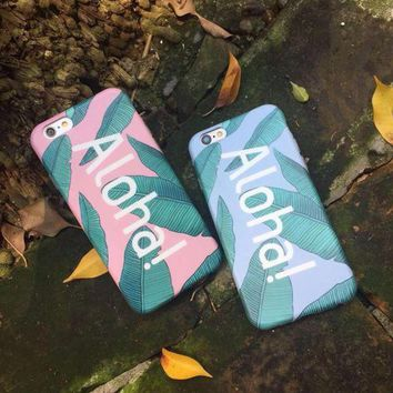 LMFON1O Day First Banana Leaves Case for iPhone