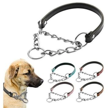Double Layer Martingale Dog Collar