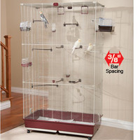 Marchioro Fedra 102 Bird Cage: Pet Bird Cages and Aviaries