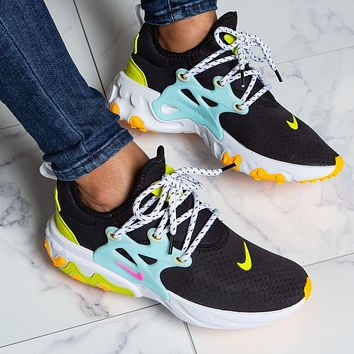 Nike REACT PRESTO Running shoes for women's leisure sports