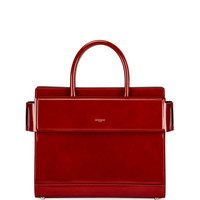Givenchy Horizon Small Glazed Leather Tote Bag