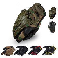 2016 New Mechanix Wear M-Pact Army Military Tactical Gloves Outdoor Paintball Shooting Full Finger Motocycel Bicycle Mittens