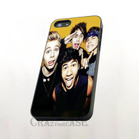 5SOS band (5 seconds of summer) for iPhone 6 case, iPhone 4/4s Case,iPhone 5/5s/5c case,iPod  Touch 4/5 case,Samsung Galaxy S3/S4/S5 case