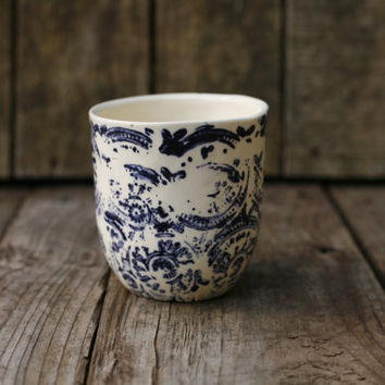 Petit cafe / small coffee mug by ArtetManufacture on Etsy