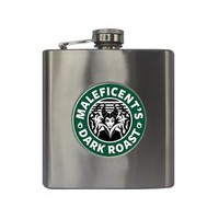 Starbucks Disney Inspired Maleficent Sleeping Beauty Villain 6oz. Flask