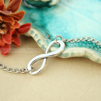 Bracelet-infinity bracelet, everlasting karma bracelet, gift for girl friend, boyfriend gifts