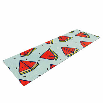 "Strawberringo ""Watermelon Pattern Summer Love"" Fruit Food Yoga Mat"